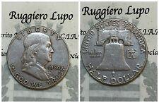 America - États Uni Moitié Dollar Franklin 1960 VF