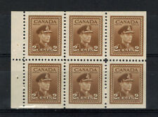 CANADA SCOTT 250b MINT NEVER HINGED BOOKLET PANE