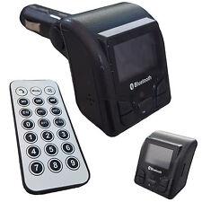 8 in 1 FM Transmitter Bluetooth Freisprech MP3 Player Fernbedienung SD MMC USB