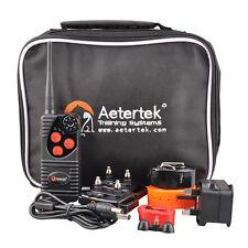 Aetertek Remote Shock Beep Waterproof Dog Train Collar Vibrate No Bark UK 216D-2
