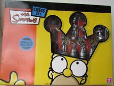 The Simpson Chess set. Antique  Metal Style, UNUSED.