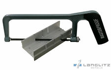 Sierra de Mano Ingletadora Para Aluminio 0° - 300° Bastlersäge Metal Arco