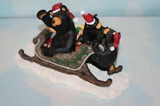Big Sky Carvers Bearfoots Jingle Bears - Jeff Fleming Montana Artist