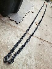 Black Chain 7,100lbs limit, 20 ft, Herc- Alloy 800 series
