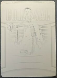 Kyle Guy 2020-21 National Treasures Black Plate 1/1 from 19/20 NT Card #39