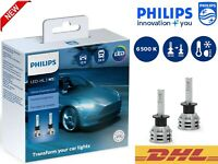 PHILIPS H1 LED Ultinon Essential Car Headlight Bulbs 6500K White 11258UE2X2