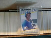 fleer box set 1989 with Ken Griffey Jr. Rookie card and Nolan Ryan complete set