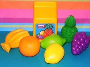 Little Tikes fruit punch w/fruit pretend play food lot strawberry pineapple more