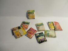 6 DOLLS HOUSE MINIATURE PACKET SOUPS