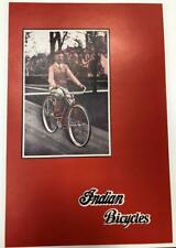 1926 INDIAN MOTORCYCLE Co. bicycle CATALOG  Springfield Mass COPY