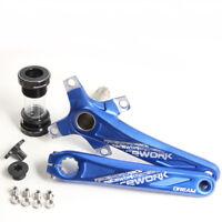 MTB Bicycle Crankset Fat Crank 170mm BCD Bracket For Road Bike 104mm Aluminum