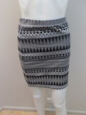 METALICUS GREY/BLACK TUBE SKIRT OSFM=8/10/12  (#F201)