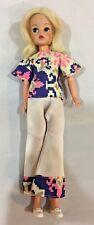 Vintage HTF Pedigree Sindy Doll Top Pop Doll Original Aztec Outfit