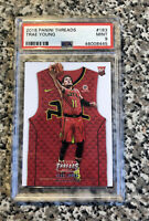 2018-19 Panini Threads Trae Young Rookie Card RC #183 PSA 9 MINT Hawks🔥🔥