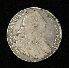 1765 A Bavaria Maximilian III - Madonna & Child Silver Thaler