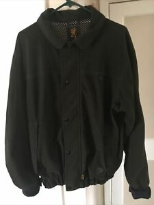 BROWNING Hydro-Fleece Jacket Men's Medium-Gore-Tex, Green