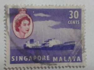 SINGAPORE STAMP - 30 CENTS