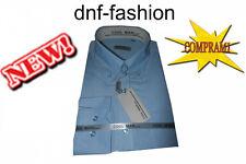Camicia classica uomo Cool Man manica lunga collo classico Button Down art 207