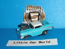 MUSCLE MACHINES '57 Chevy Bel Air 5th Year Anniversary #05-26 Real Riders 1957