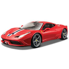 BBURAGO 1:18 Serie Signature Ferrari 458 Speciale CON MUCHOS DETALLES