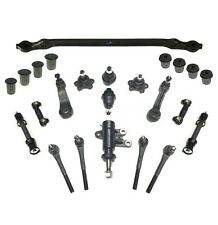 24 Pc Suspension Kit for Chevrolet GMC Center link Tie Rods Ball Joints Sway Bar