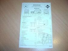 Fiche technique Regla'tech l'Expert automobile Mercedes 240 GD