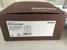 10 Stück Merten SCHUKO-Steckdose alu MEG2300-0460