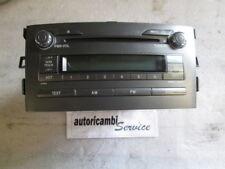 TOYOTA AURIS 2.0 DIESEL 5P 6M 93KW (2007) RICAMBIO AUTORADIO (NON FORNIAMO CODIC