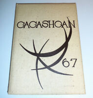 East Rochester High School Yearbook 1967 Gagashoan HS NY New York Teacher