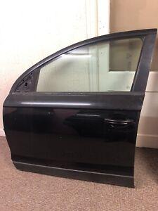 AUDI Q7 4L 06-14 NSF BLACK PASSENGER SIDE FRONT DOOR SHELL
