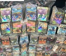 Pokemon 100 Mint  Cards In a Empty Storage Theme Deck Box +5 Shiny R. Holo Foils
