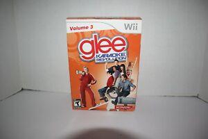 NEW Glee Karaoke Revolution Volume 3 Bundle - Original Nintendo Wii game NEW