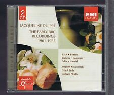 JACQUELINE DU PRE EARLY BBC RECORDINGS 2 CDs NEW