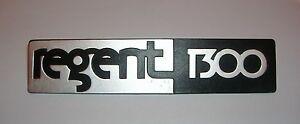 LEYLAND - INNOCENTI REGENT 1300/ SCRITTA POSTERIORE/ REAR NAMEPLATE