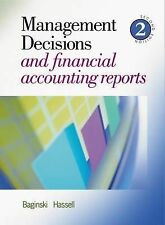 Management Decisions and Financial Accounting Reports by Stephen P. Baginski