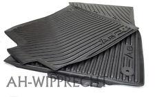 Original Audi A6 S6 4G Gummimatten S-Line V8 Fußmatten 4x Gummi 4G1061501041 OEM