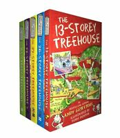The 13 Storey Treehouse Collection 5 Books Set B | Andy Griffiths & Terry Denton