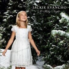 O Holy Night CD/DVD Jackie Evancho Holiday Christmas America's Got Talent Music