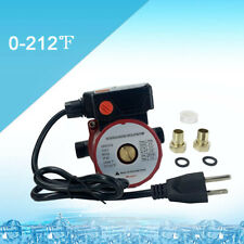 3-Speed Hot Water Recirculating Pump for Water Heater System Circulation 3/4inch