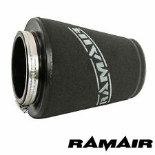 UNIVERSAL 90mm NECK RAMAIR INDUCTION CONE FOAM HIGH FLOW AIR FILTER ELEMENT