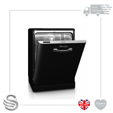 Swan SDW7040 Dishwashers Full Size in Black