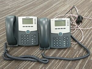 2 X CISCO SPA504G Handsets
