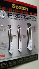 GENUINE Scotch Precision Titanium Utility Knife Set Free Post Superfast Shipping