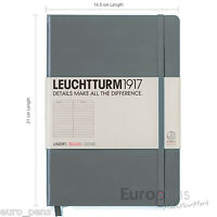 Leuchtturm1917 Classic Hardcover Notebook - Medium A5 - LINED / RULED