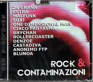 ROCK & CONTAMINAZIONI - 2 CD NUOVO SIGILLATO 24 GRANA ESTRA PASTO NUDO MALFUNK