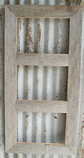 Barn Wood Reclaimed Rustic Photo Picture Frame for 3-4x6 or 3-5x7 (Many Colors!)