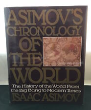 Asimov's Chronology of The World - Hardcover- First Edition