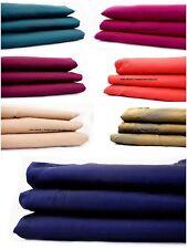 Taffeta Silk Natural Slub Colour Shot Dress Fabric Indian (Sold Per Metre)