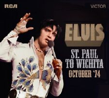 ELVIS PRESLEY - FTD CD  -  St. PAUL TO WICHITA / OCTOBER '74  -  FTD CD
