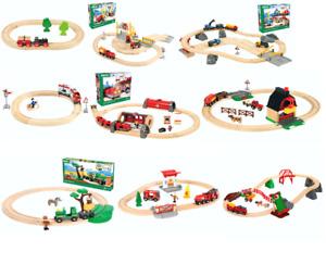 Brio Holzspielzeug Eisenbahn Feuerwehr Safari Bauernhof viele Sets zur Auswahl